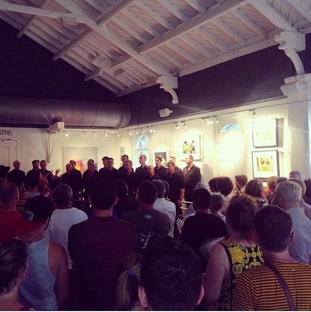 Melbourne City Gay Choir performance